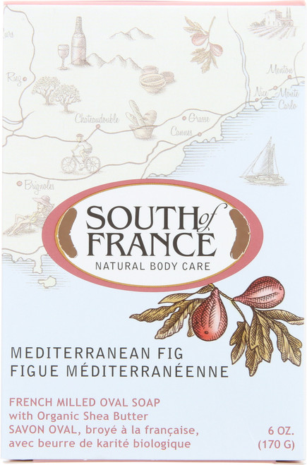 Oval Soap Mediterranean Fig