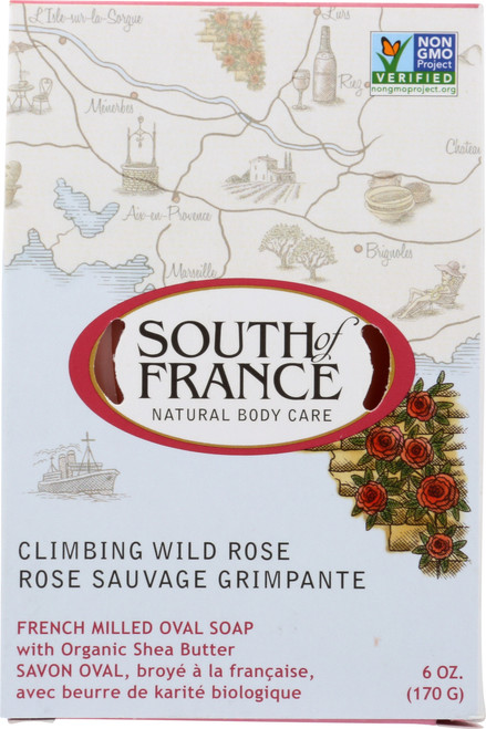 Oval Soap Climbing Wild Rose