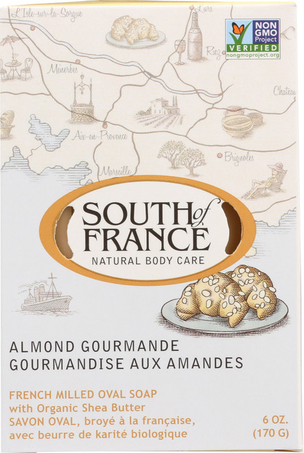 Oval Soap Almond Gourmande
