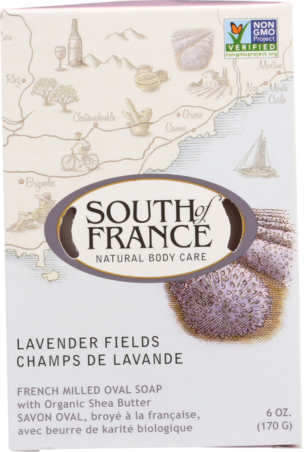 Oval Soap Lavender Fields