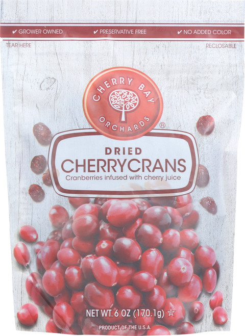 Dried Cherrycrans Cranberries Infused With Cherry Juice