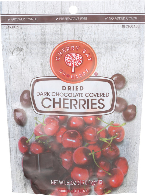 Dried Cherries Dark Chocolate Covered
