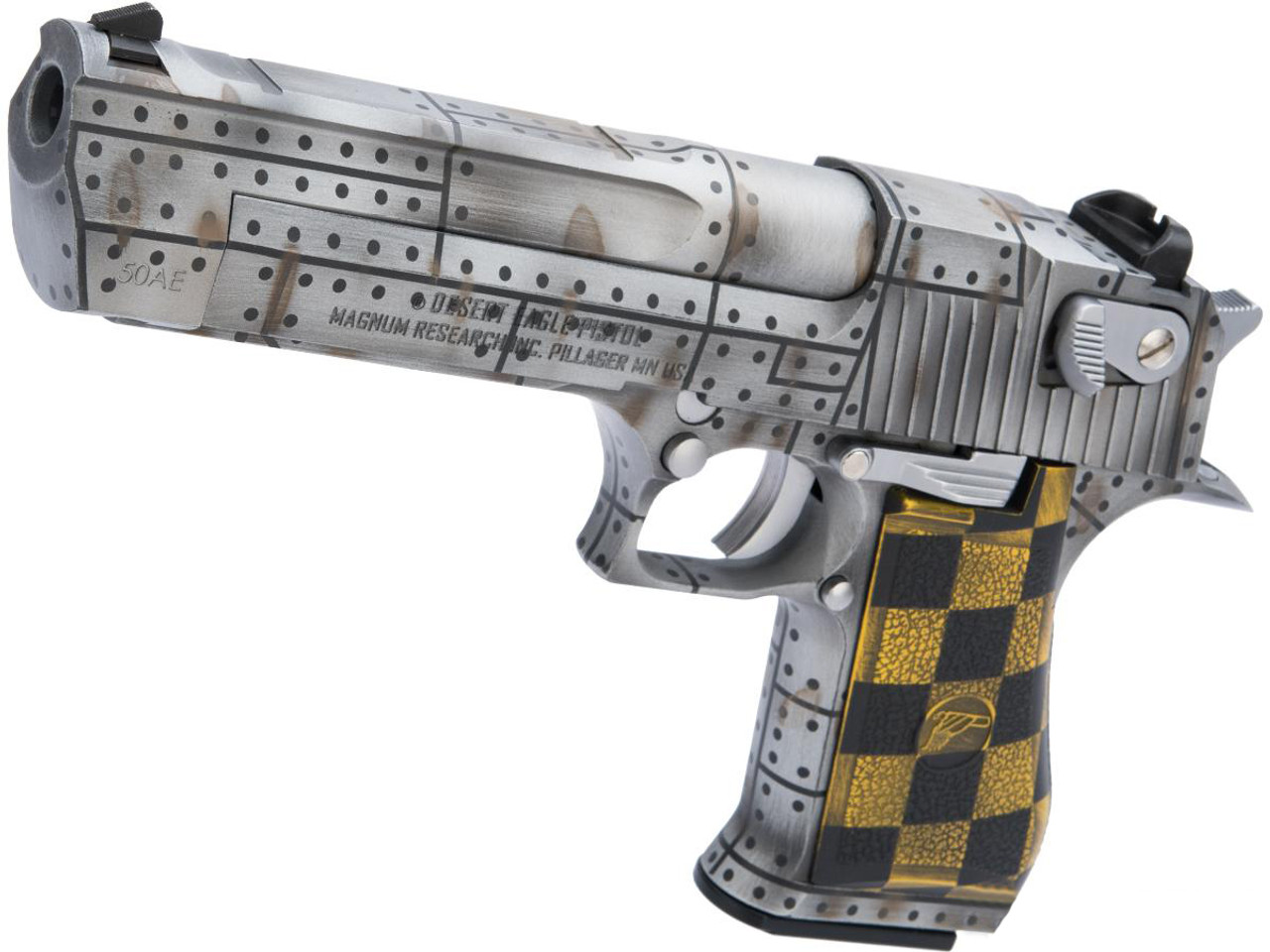 We Tech Desert Eagle 50 Ae Full Metal Gas Blowback Airsoft Pistol By Cybergun W Black Sheep Arms Custom Cerakote Color Warbird Hero Outdoors