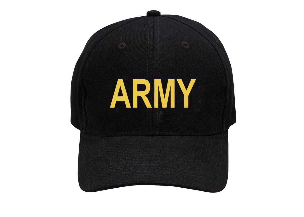 fcdb0da8f68 Low Profile Cap - Army - Black - Hero Outdoors