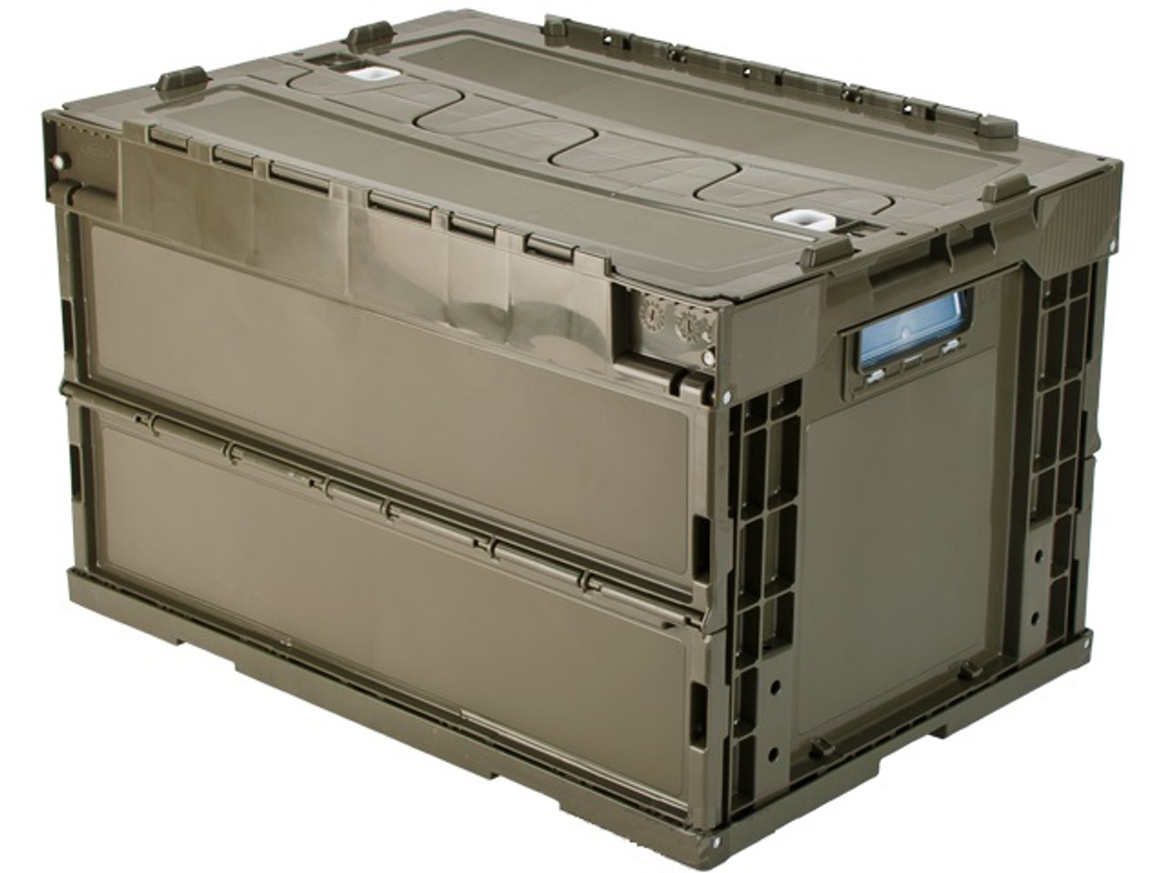 b62c247f2af Laylax Tactical Folding Military Storage Box Container - Olive Green ...