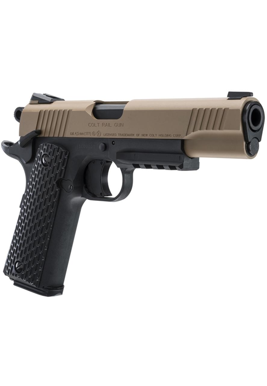 Umarex Colt M45 4 5mm CO2 BB Pistol - Blowback