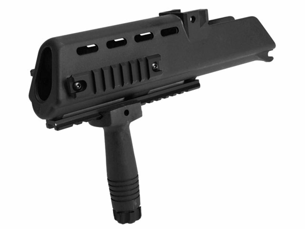 RIS Handguard Set for H&K G36 Series Airsoft AEG Rifles - Black