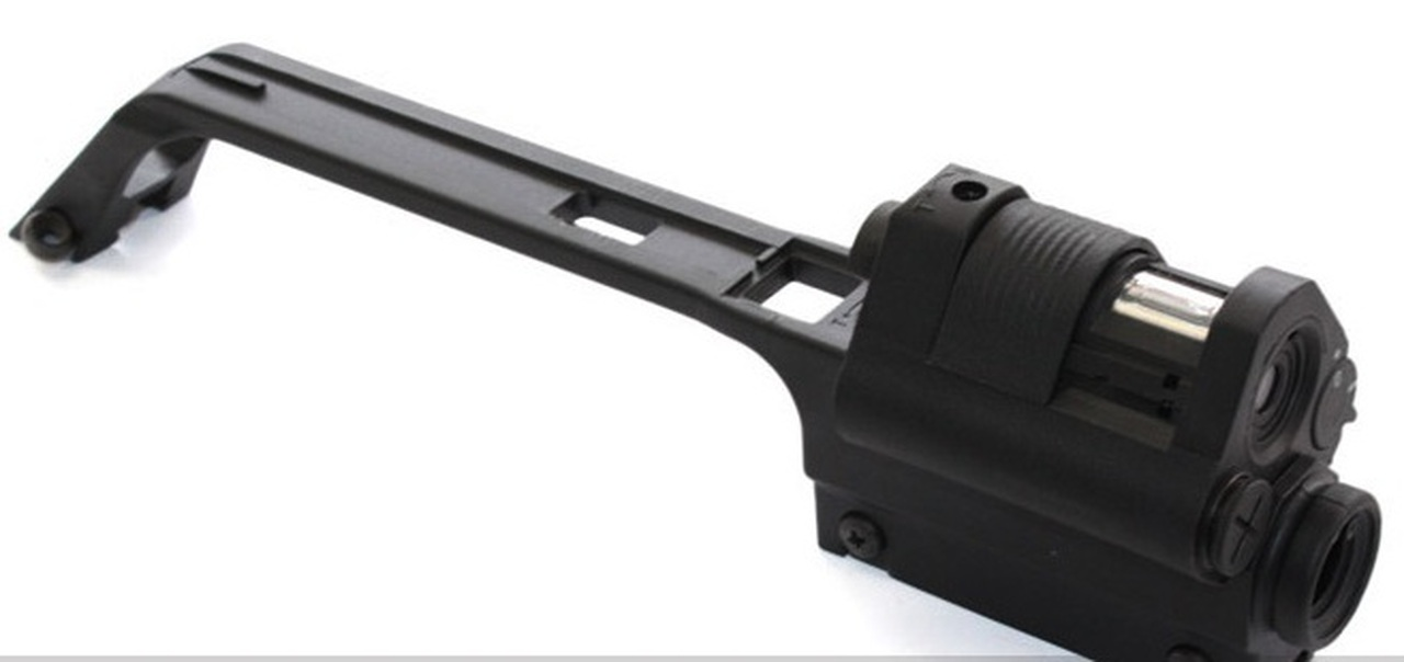 G36V Type Sniper Carrying Handle w/ Integrated Red Dot Sight & 3 5X Scope  For G36 Series Airsoft AEG - Black