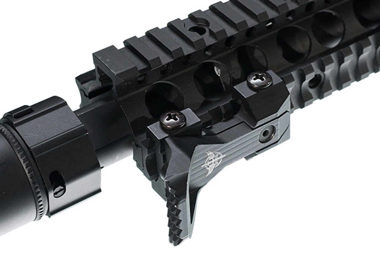 7 Slot Medium Rail Segment for Retro Arms VZ  58 Handguard - Black