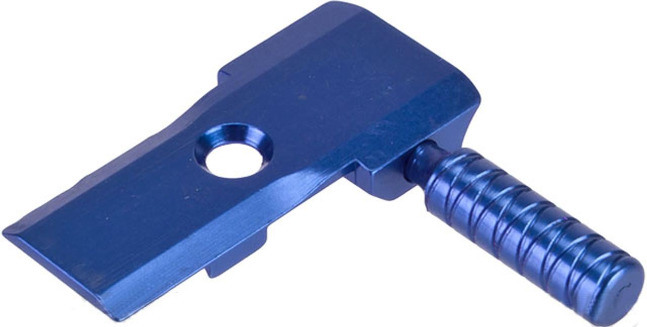 5KU Low Profile CNC Aluminum Alloy Cocking Handle for Tokyo Marui 5 1  Hi-Capa Pistols - Blue