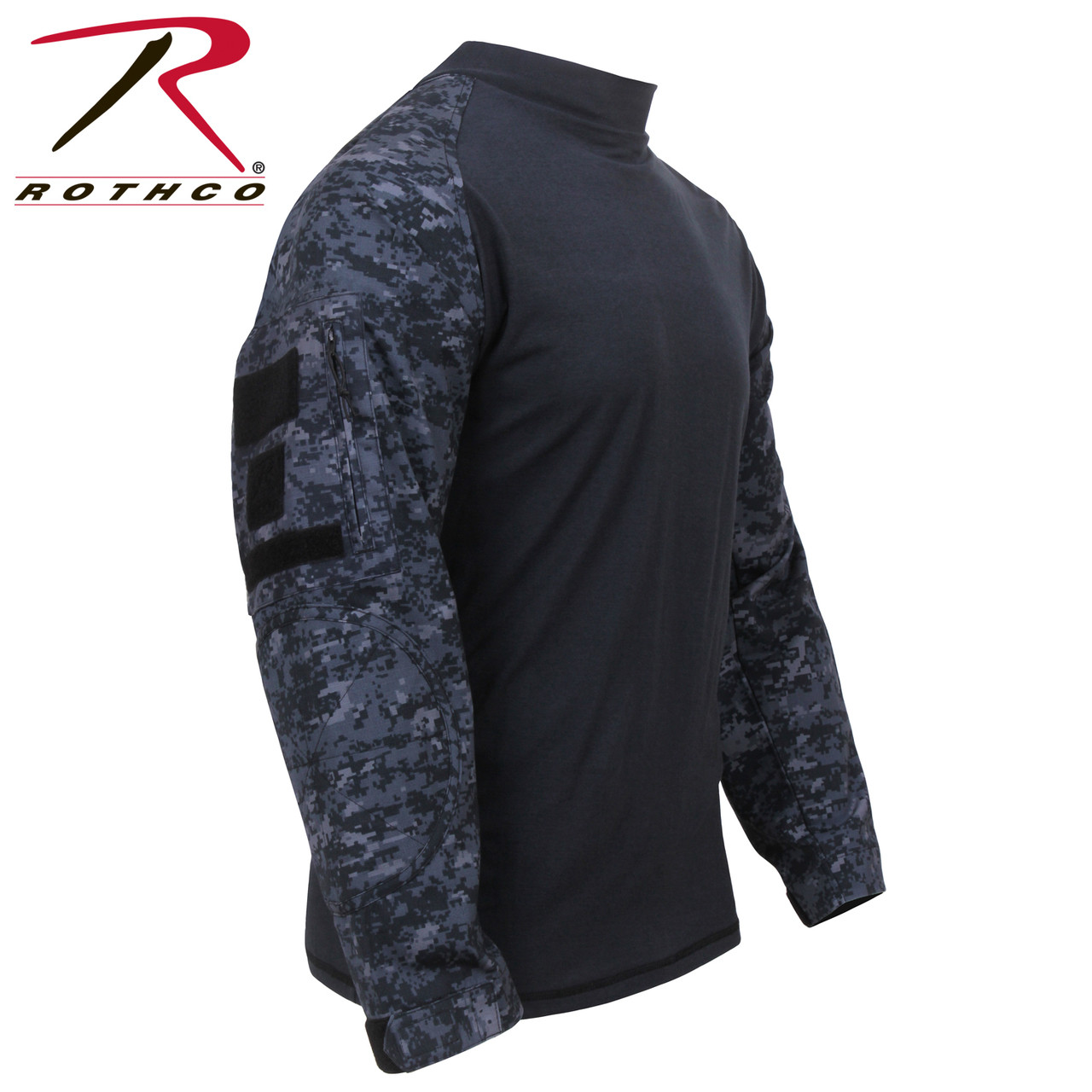 5e0678b1 Rothco Military FR NYCO Combat Shirt - Midnight Digital Camo - Hero Outdoors