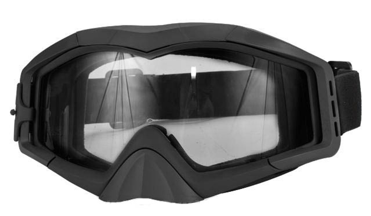 a6dcd0f1fef Avengers Tactical Airsoft Gaming Extreme Sports Goggles - Black ...