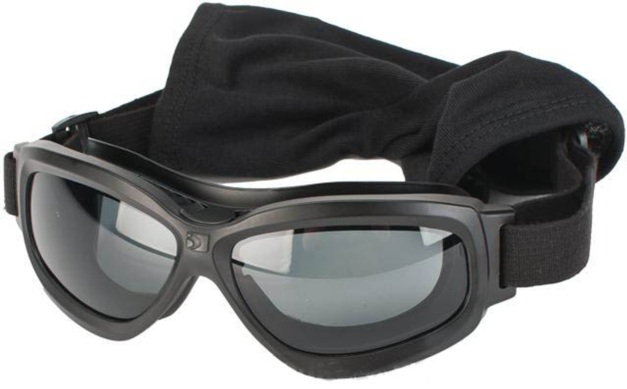e62bf2a250 Bobster Bravo 2 Interchangeable Ballistics Goggles w  MOLLE pouch and Extra  Lenses - Black - Hero Outdoors
