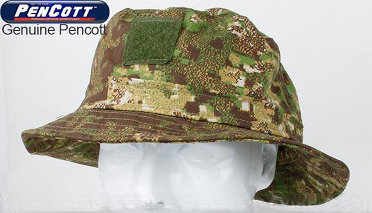 17e9a57b4d0 Rasputin Camouflage Bucket Hat - PenCott GreenZone - Hero Outdoors