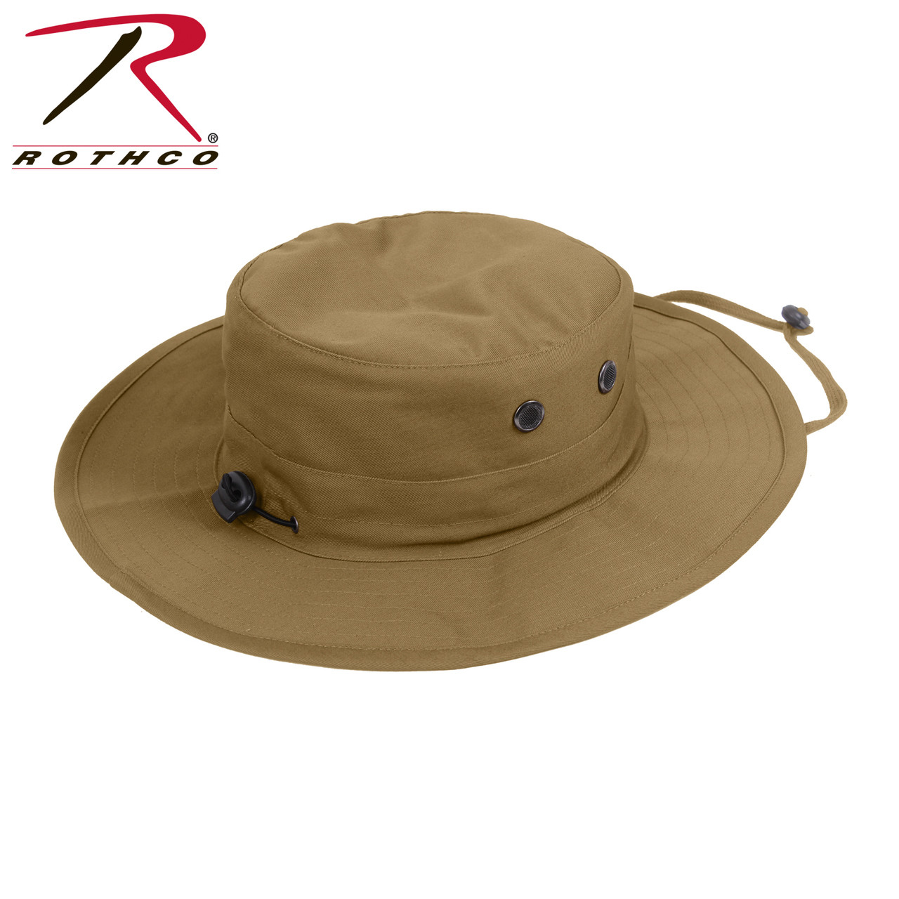 a182f2d5fdb08 Rothco Adjustable Boonie Hat - Coyote Brown - Hero Outdoors