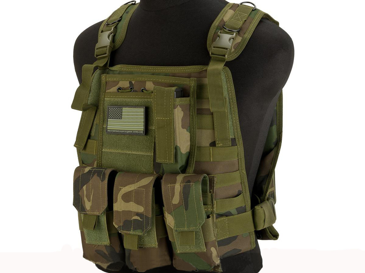 Avengers Tactical Spec. OPS MOLLE Plate Carrier / Load