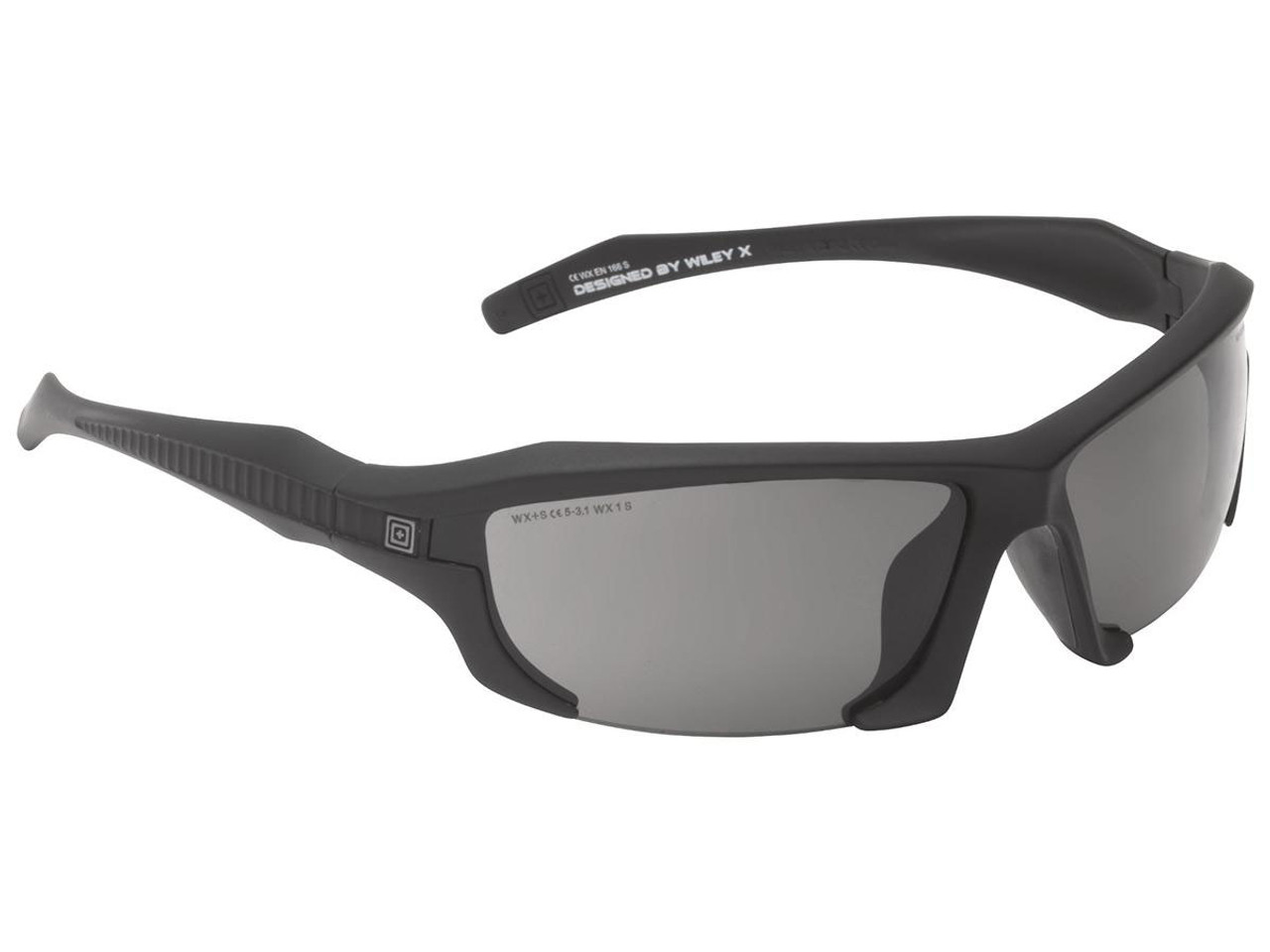 fec6e07b9a0 5.11 Tactical Burner Shooting Glasses with 3 Lens by Wiley-X - Hero ...