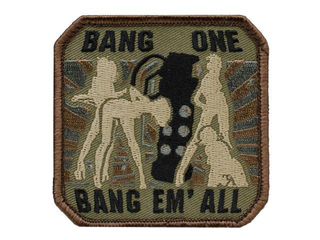Military bang bare