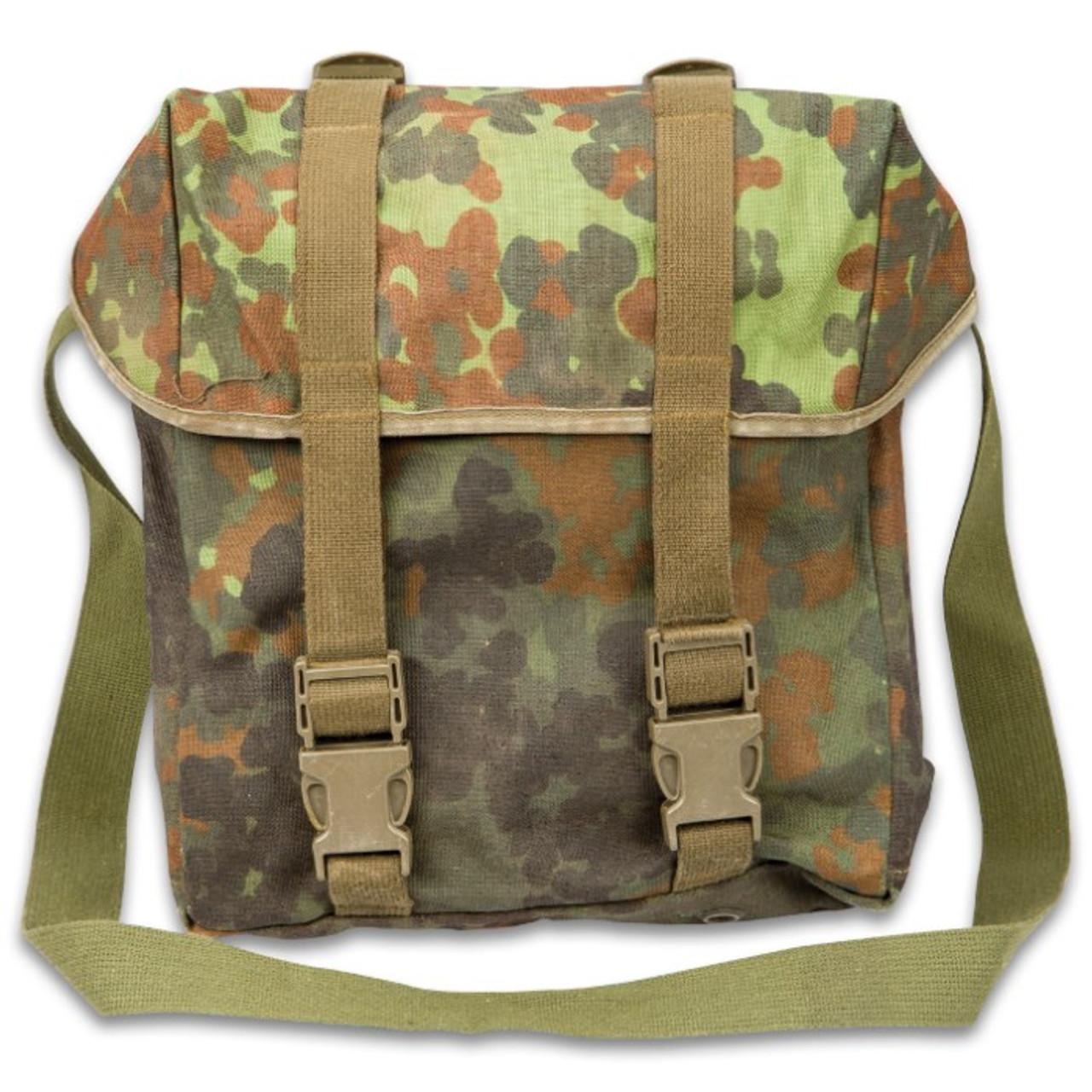 8c55de81f German Military Surplus Combat Pack / Shoulder Bag - Flecktarn Camo - Hero  Outdoors