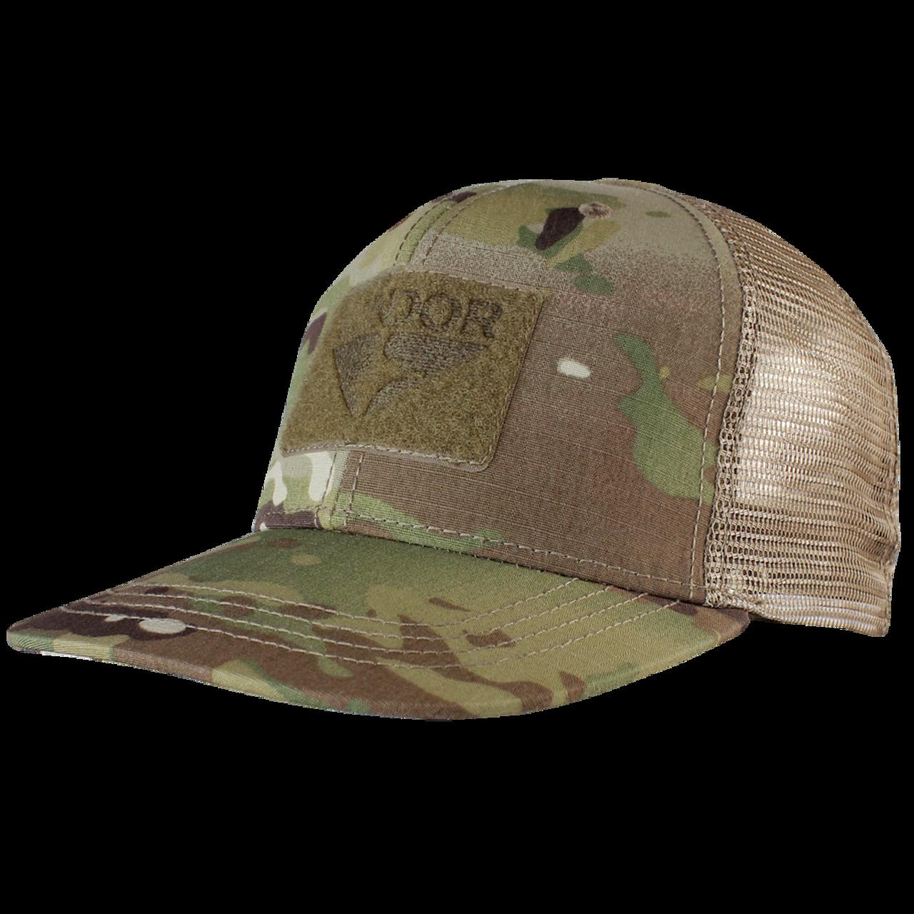 5056ae0ce7b84 Condor Flat Bill Trucker Hat with MultiCam - Hero Outdoors