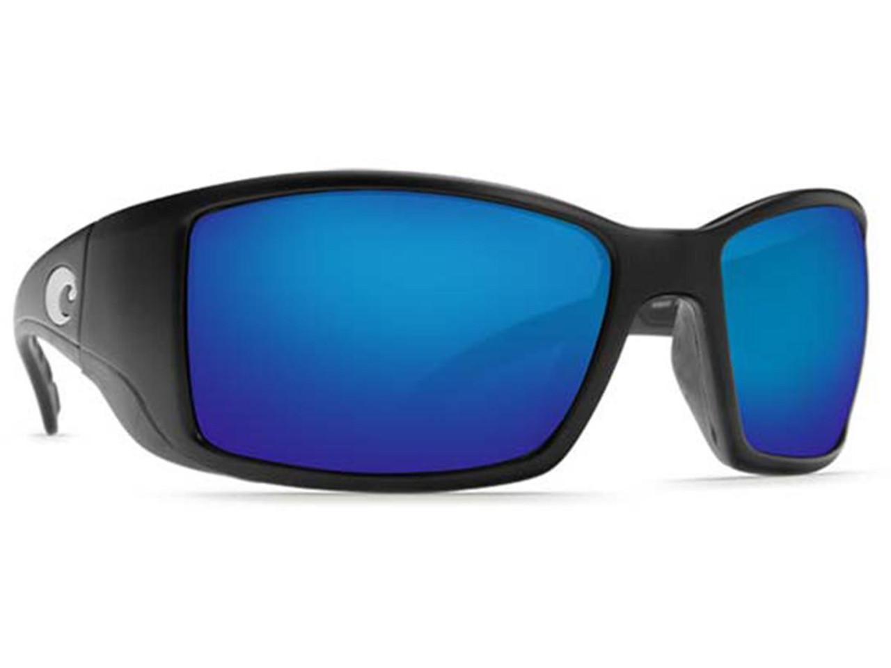 46cc4c1d27 Costa Del Mar - Blackfin Polarized Sunglasses (Color  Matte Black   580p  Blue   Omnifit) - Hero Outdoors