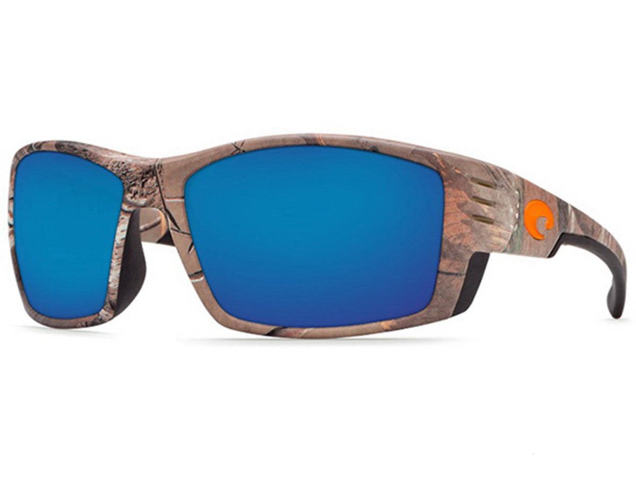 b64a7fba77f Costa Del Mar - Cortez Polarized Sunglasses (Color  Realtree XTRA Camo    580p Blue
