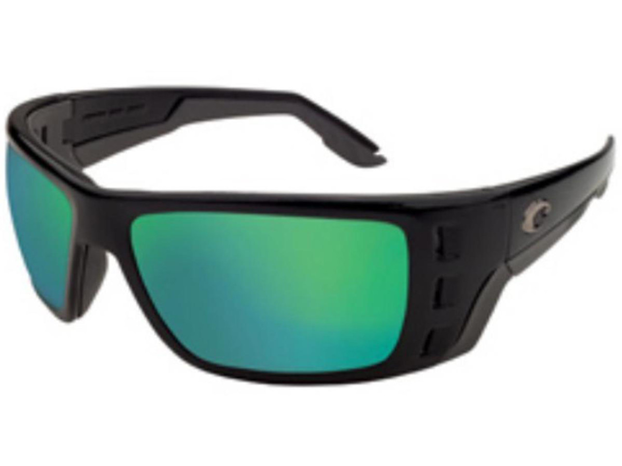 9abe848a1e Costa Del Mar - Permit Polarized Sunglasses (Color  Black   580g Green  Mirror) - Hero Outdoors