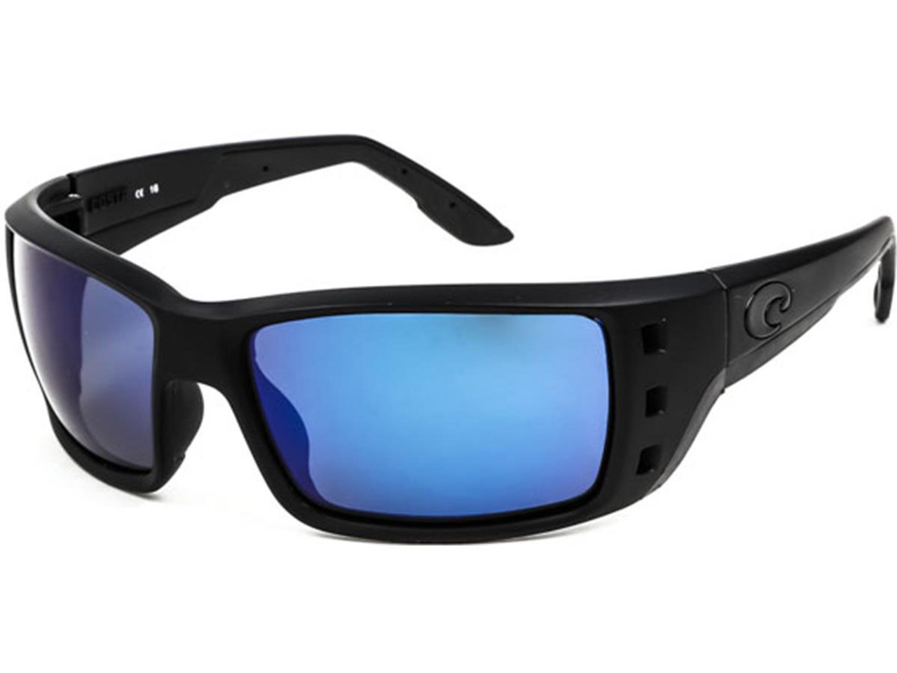6b3b5aa315 Costa Del Mar - Permit Polarized Sunglasses (Color  Blackout   580g Blue  Mirror) - Hero Outdoors