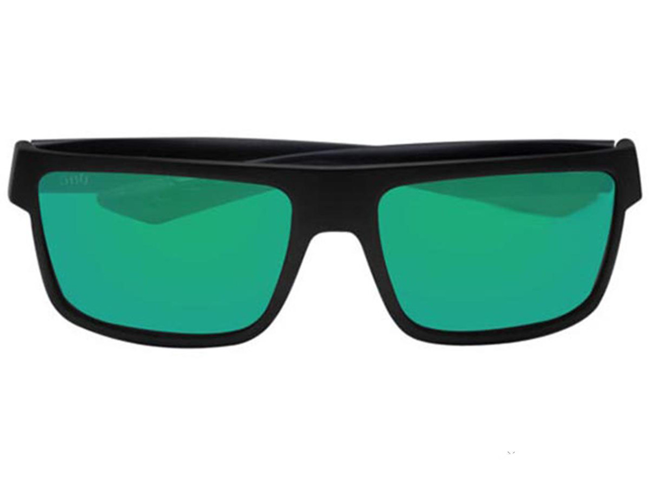 9f9672580b Costa Del Mar - Reefton Polarized Sunglasses (Color  Blackout   580g Greem  Mirror) - Hero Outdoors
