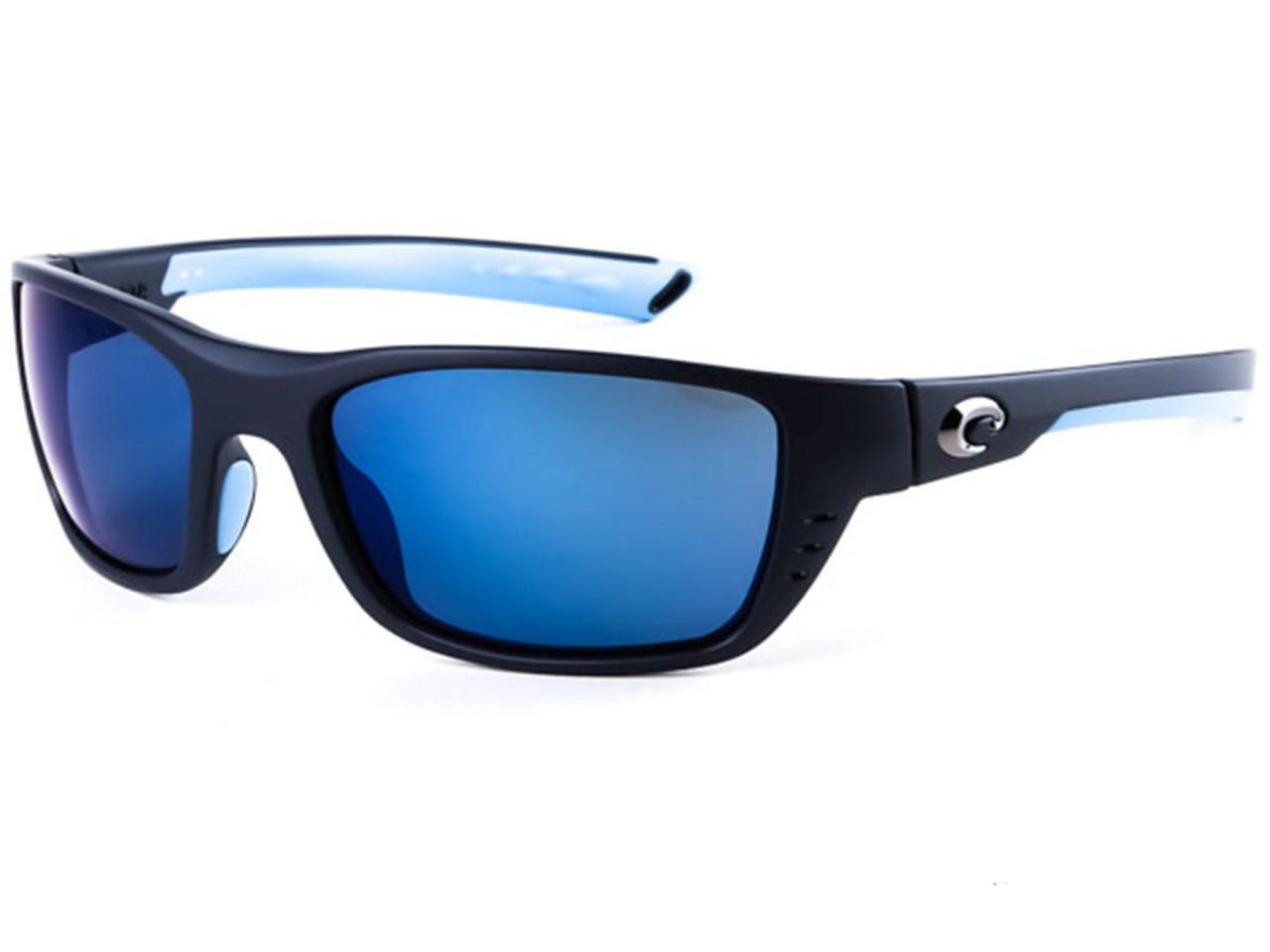 6b10128f5f Costa Del Mar - Whitetip Polarized Sunglasses (Color  Matte Heron   580p  Blue Mirror) - Hero Outdoors