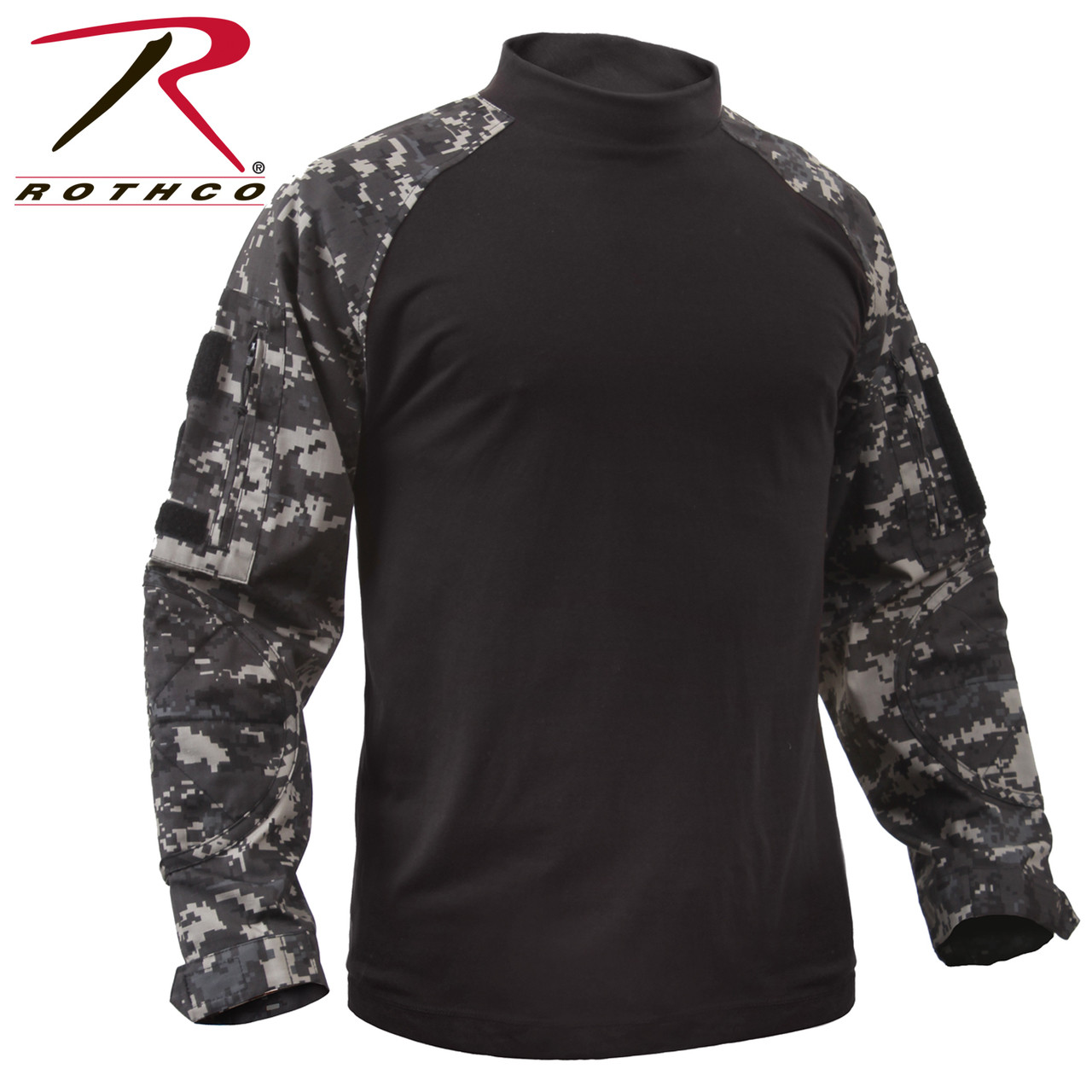 942f0c5c Rothco Tactical Airsoft Combat Shirt - Subdued Urban Digital Camo - Hero  Outdoors