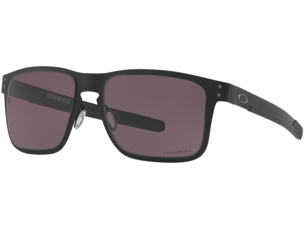 16cc624487 Oakley Holbrook Metal Mens Sunglasses (Color  Matte Black   Black Iridium  Polarized)