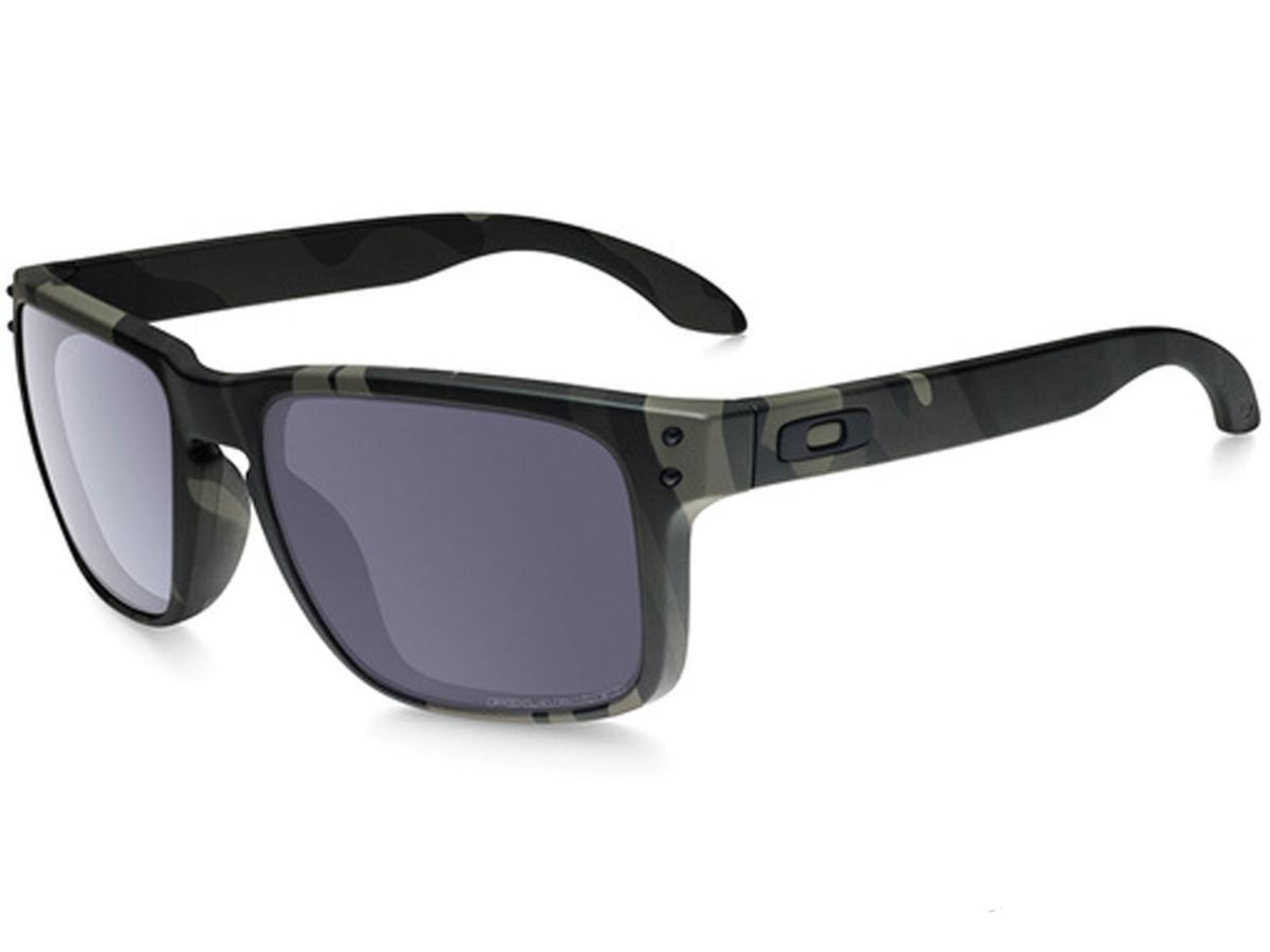 6ee01d333289d Oakley Holbrook Sunglasses (Color  Multicam Black   Grey Polarized) - Hero  Outdoors