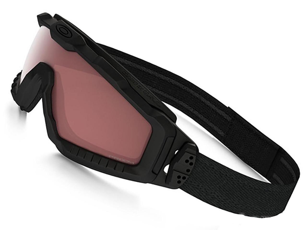 de8760962a Oakley SI Ballistic ALPHA Halo Full Seal Goggle - Matte Black with TR45  Tinter Iridium Lens