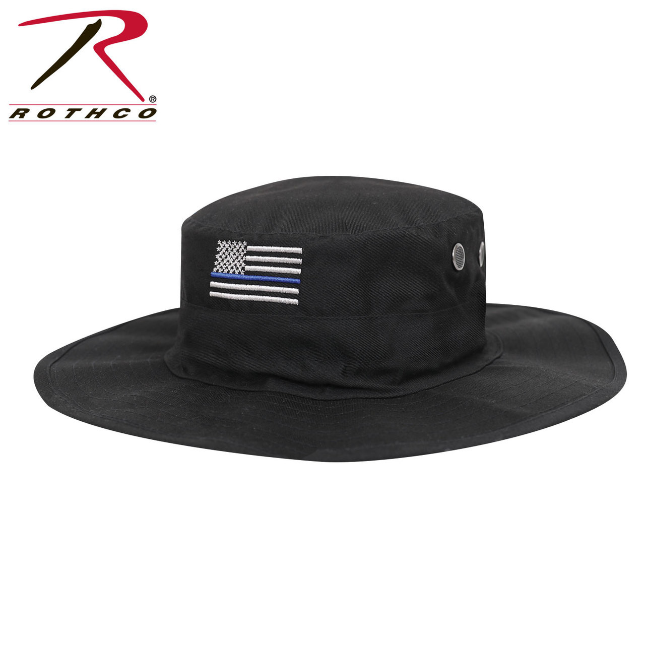Rothco Thin Blue Line Adjustable Boonie Hat - Hero Outdoors 9e47bd11d76