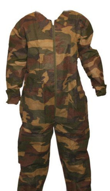Disposable Field Camouflage Coveralls
