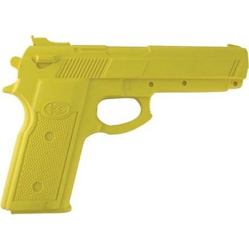 Master Cutlery Full Size Rubber Training Pistol - Yellow