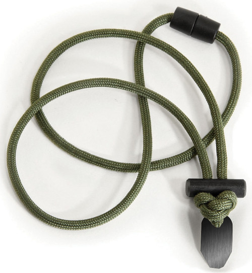Firecraft Necklace Olive Drab