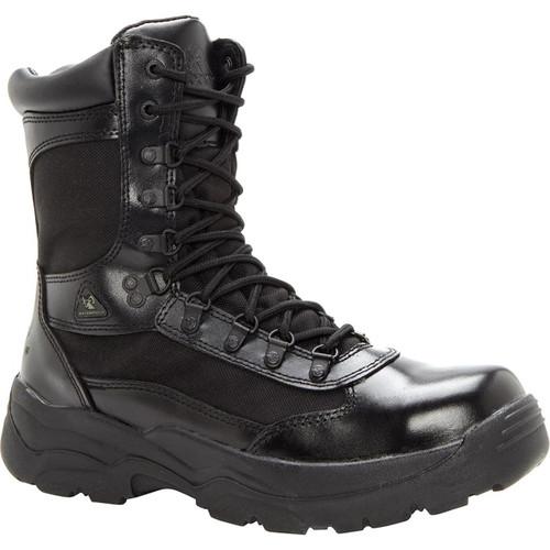 Rocky Fort Hood Zipper Waterproof Duty Boot