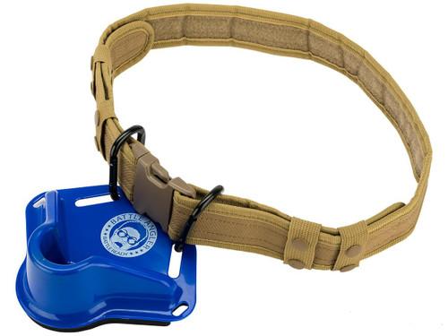 "Battle Angler ""High Speed Operator"" Fishing Fighting Belt System (Model: Alpha Blue Coyote)"