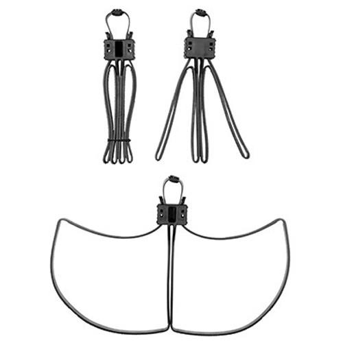 Milspecs Plastics Cobra Cuffs Black - 6 Pack
