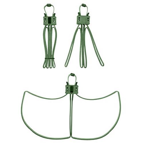 Milspecs Plastics Cobra Cuffs Green - 100 Pack