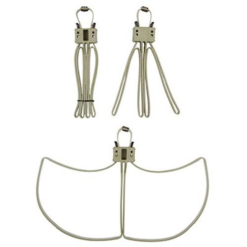 Milspecs Plastics Cobra Cuffs Tan - 100 Pack