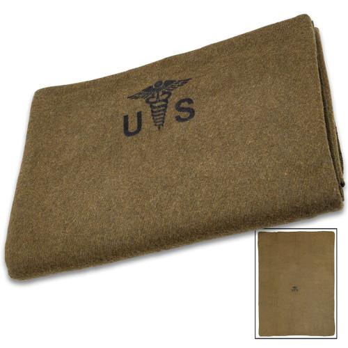 U.S Forces Medic Wool Blanket