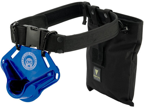 "Battle Angler ""High Speed Operator"" Fishing Fighting Belt System (Model: Bravo Blue Black)"