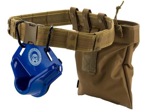 "Battle Angler ""High Speed Operator"" Fishing Fighting Belt System (Model: Bravo Blue Coyote)"