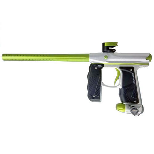 Empire Mini GS Paintball Gun Dust Silver/Green