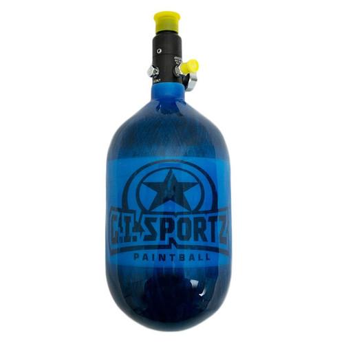GI Sportz 68/4500 Paintball Tank - Blue