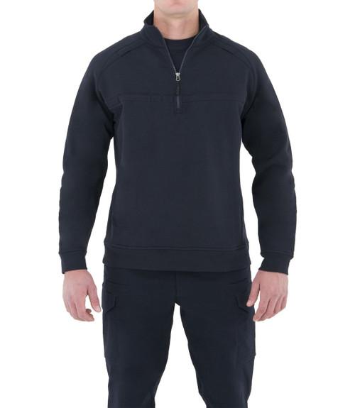 First Tactical Men's Cotton Job Shirt Quarter Zip