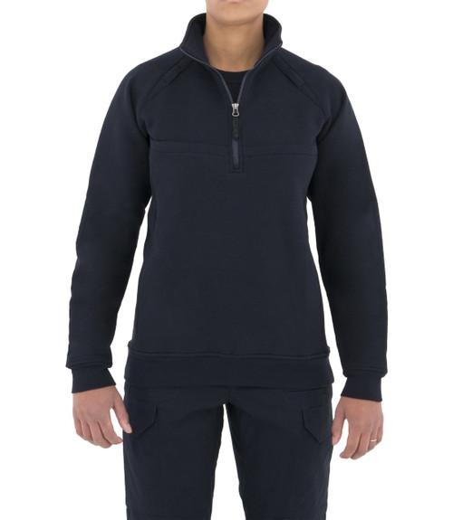 First Tactical Women's Cotton Job Shirt Quarter Zip